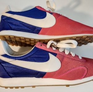 Nike pre Montreal pink blue sneakers wmns sz8.5